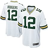 Nike Aaron Rodgers Mens Replica Away Jersey (X-Large)