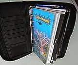Sub Book Logbuch blau mit Tauchgangsseiten Motiv: Taucher