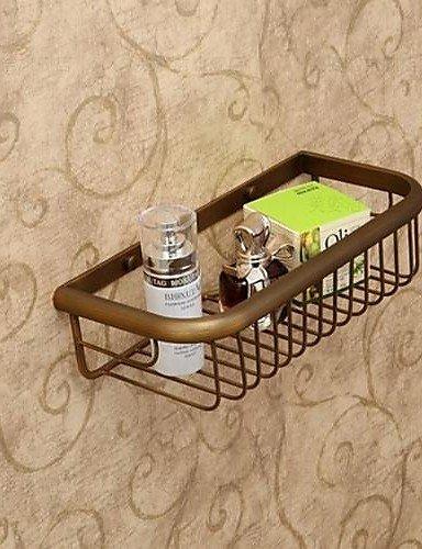 LINA@ Portasapone da doccia , Antico Ottone smaltato A muro