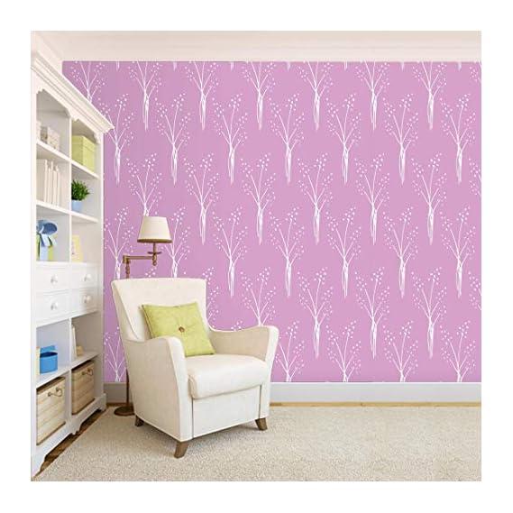 100Yellow? Printed Self Adhesive Peel & Stick Waterproof Wallpaper For Bedroom Stylish-26.7 Sqft