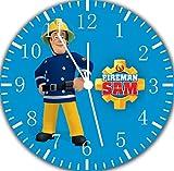 Rusch E185 Wanduhr Feuerwehrmann Sam 25,4 cm