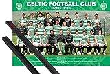1art1 Poster + Hanger: Fußball Poster (91x61 cm) Celtic