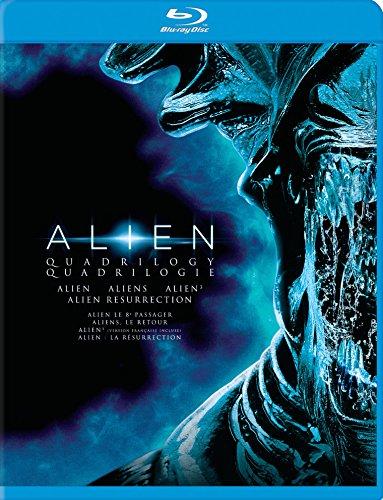 Alien Quadrilogy : Alien / Aliens / Alien 3 / Alien Resurrection [Blu-ray]