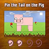 Party Supplies for Your Favorite Pixel Video Games (Pin the Tail on the Pig Game) by SGG