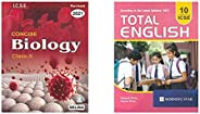 Selina ICSE Concise Biology for Class 10 (2020-2021) Session + ICSE Class 10 Total English for 2021 (Latest Sy