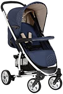 Hauck Malibu All-in-One Travel System - Moonlight/Almond