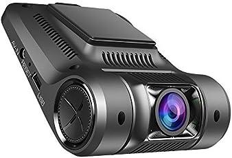 Dashcam Wifi 1080P, Vikcam Kompakte Autokamera 170°Weitwinkel WDR Nachtsicht Bewegungssensor, Parkmonitor, Loop-Aufnahme, 2.45 Zoll LCD