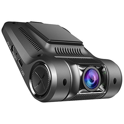 Virtoba Vikcam V168 Caméra de Voiture Dashcam 1080P HD WiFi Caméra Embarquée Enregistreur de Conduite - 170 ° Vision Détecteur de Movement Alerte Capteur-G Enregistrement Automatique