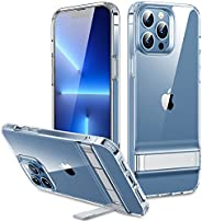 ESR Metal Kickstand Case Compatible with iPhone 13 Pro Max, Patented Two-Way Stand, Reinforced Drop Protection