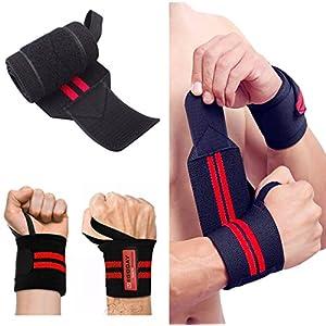 megoday gewichtheben handgelenk wraps verband hand unterstützen fitness – riemen – zu lange, verstellbar, 1 paar