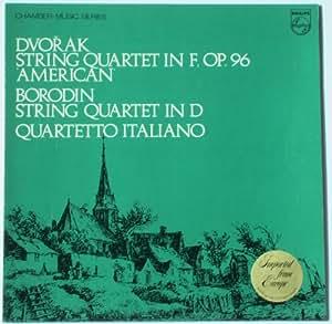 DVORAK STRING QUARTET IN F LP UK PHILIPS 1968