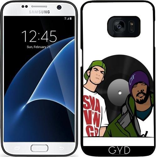 Custodia in silicone per Samsung Galaxy S7 (SM-G930) - Rap Musica Pop Jazz by WonderfulDreamPicture