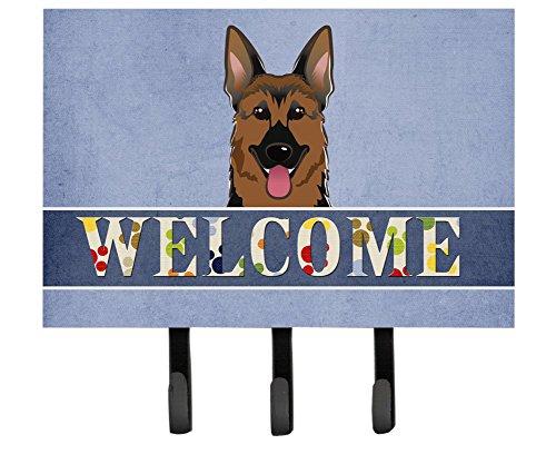Caroline 's Treasures bb1397th68Deutscher Schäferhund Welcome Leine oder Schlüsselhalter, groß, Multicolor -