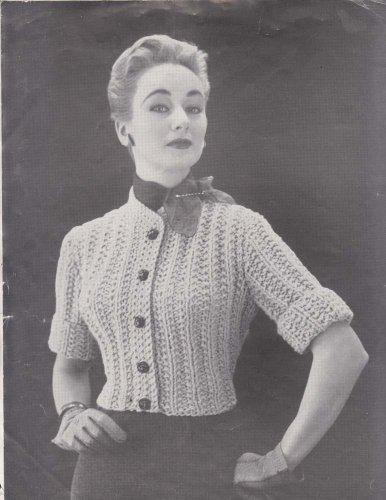 Bulky Knit Shortie Cardigan Knitting Pattern Sizes 12 14 16 (English Edition) - Cat Cardigan