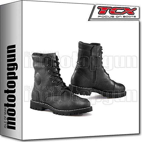 TCX Scarpe Stivali Moto 7295G Hero Gore-Tex Nero tg 42/8,5