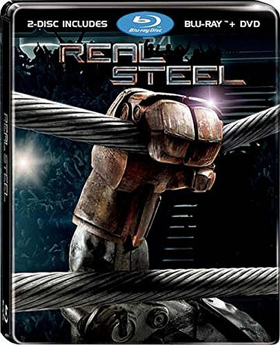 Real Steel - 2-Disc Limited Edtion Steelbook (Blu-ray + DVD) [Import]