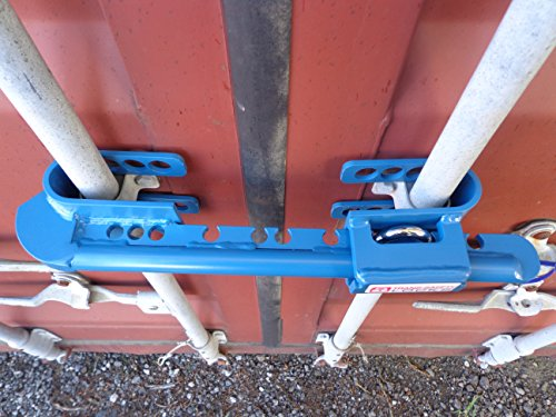 VdS-zertifizierter Container-Diebstahlsicherung TSR Omega inkl. 13mm Bügelschloss, Containerriegel für Baucontainer - 6
