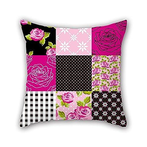 Pillo Colour Block Taie d'oreiller, le meilleur pour père, Banc, salle de jeux, siège auto, bureau, Parure de lit 40,6x 40,6cm/40par 40cm (deux côtés)
