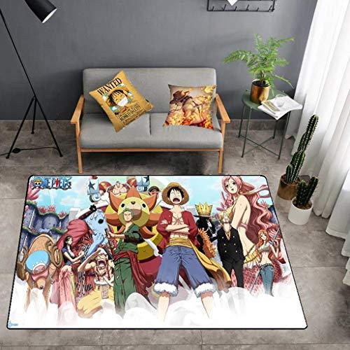 SYXYSM (One Piece Anime Design Rechteckigen rutschfesten Teppich Startseite Anime Foto Wohnzimmer Schlafzimmer Full Shop Large Size Teppich Teppich (Color : I, Size : 120cm×160cm)