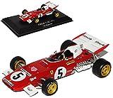 Atlas Ferrari 312B2 Clay Regazzoni 1971 Formel 1 1/43 Modell Auto mit individiuellem Wunschkennzeichen