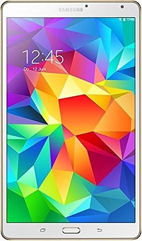 Samsung Galaxy Tab S 21,34 cm (8,4 Zoll) WiFi-Tablet-PC (Quad-Core, 1,9GHz, 3GB RAM, 16GB interner Speicher, Android) weiß