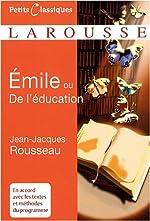 Emile - Traité d'éducation de Jean-Jacques Rousseau