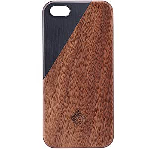 Native Union - Clic Metal - iPhone 5/5s Case Farbe: Schwarz/Walnuss
