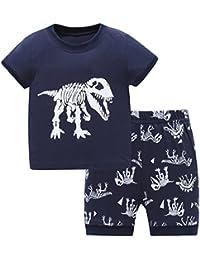 Hugbug - Pijama dos piezas - Manga corta - para niño