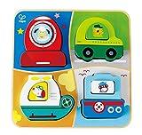 Hape E0437 All Terrain Adventure Toy (Multi-Colour) Holzspielzeug