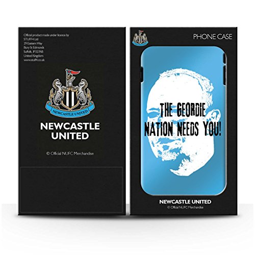 Officiel Newcastle United FC Coque / Matte Robuste Antichoc Etui pour Apple iPhone 6S+/Plus / Pack 8pcs Design / NUFC Rafa Benítez Collection Nation Geordie
