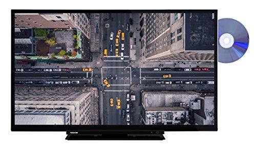Toshiba 32D1763DA 81 cm (32 Zoll) Fernseher (HD ready, Triple Tuner, DVD Player) (32-zoll-hdtv Mit Dvd-player)