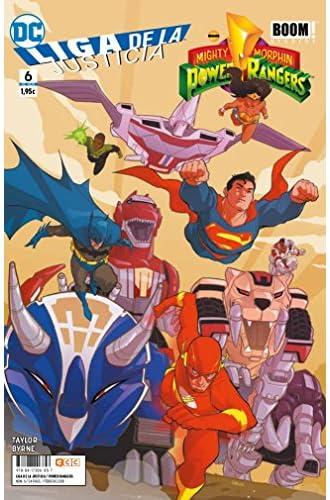 Liga de la Justicia/Power Rangers núm. 06