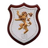 Noble Collection NN0051-Game of Thrones House Lannister-Crest