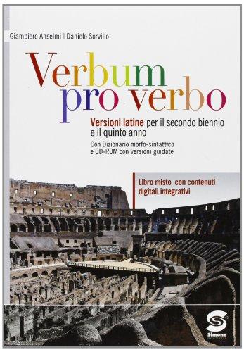 Verbum pro verbo. Con espansione online. Per le Scuole superiori. Con CD-ROM: 1