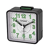 Casio Collection Wake Up Timer Black Alarm Clock TQ-140