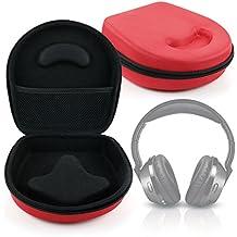 DURAGADGET Estuche / Carcasa Para Auriculares Ailihen C8 / Ausdom F01 - En Color Rojo - Diseño Ergonómico - Alta Calidad