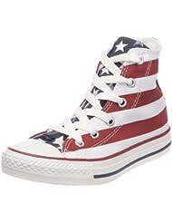 Converse Stars Bars 3J254 - Zapatillas de tela para niños