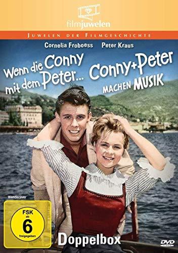 Conny und Peter: Wenn die Conny mit dem Peter & Conny und Peter machen Musik - Doppelbox [2 DVDs]