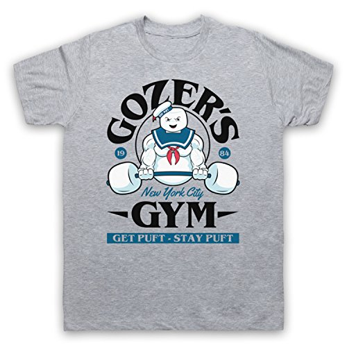Ghostbusters Gozer's Gym Stay Puft Men's T-shirt
