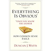 Everything is Obvious: Why Common Sense is Nonsense