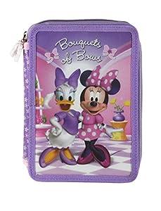 Vamos-061430-Plumier Doble de Juguete, diseño de Minnie Mouse 31 Piezas