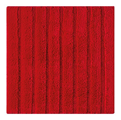 Casilin California Tapis de bain Coton Rouge 60 x 60 cm