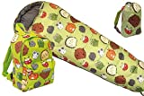 Kids Woodland Furry Friends Animal Print Sleeping Bag and Rucksack Set (Set19)
