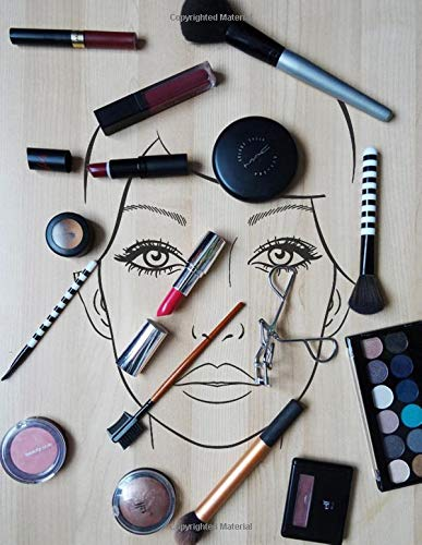 Makeup Artists Face Charts: Blank Makeup Library Face Charts Journal For Artists - Makeup Organizer Face Charts Paper For Girls - Makeup Art Notebook ... Blank Face Chart For Friends And Family