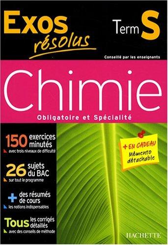 Chimie Tle S by Jean-Pierre Durandeau (2008-03-14)
