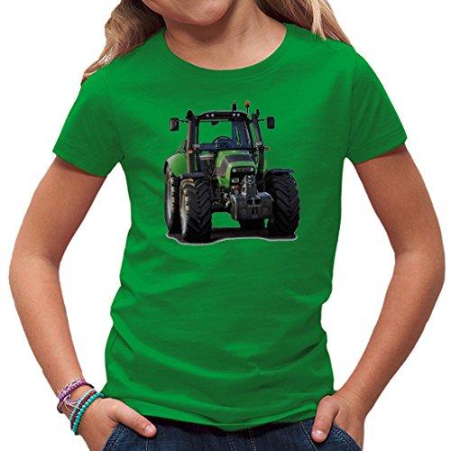 Traktoren Kinder T-Shirt - Traktor: Deutz Fahr 6120.4 by Im-Shirt - Kelly Green Kinder 5-6 Jahre