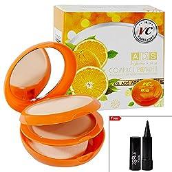 ADS Compact Powder 20g Free Laperla Kajal