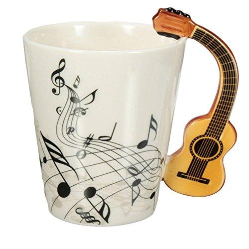 HARD VILLAIN 220ml Guitar Ceramic Cup / Mug /Coffee Tea Cup Home Office Drinkware Unique Gift