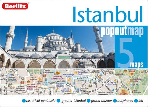 Istanbul Berlitz PopOut Map (Berlitz PopOut Maps) por Berlitz