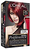 L'Oréal Paris Préférence Coloration Booster Intensiv Rot P67, 3er Pack (3 x 1 Colorationsset)